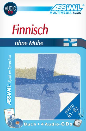 Assimil. Finnisch ohne M&#252;he. Multimedia-Classic. Lehrbuch + 4 Audio-CDs, 145 min. Tonaufnahmen, Buch