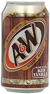 A&W Root Beer 355 ml (Pack of 12)