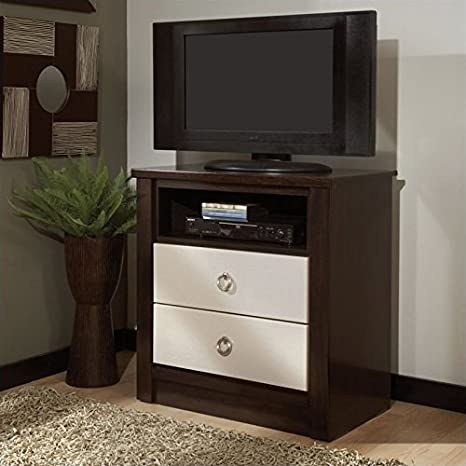 Standard Furniture Loren TV Chest in Espresso