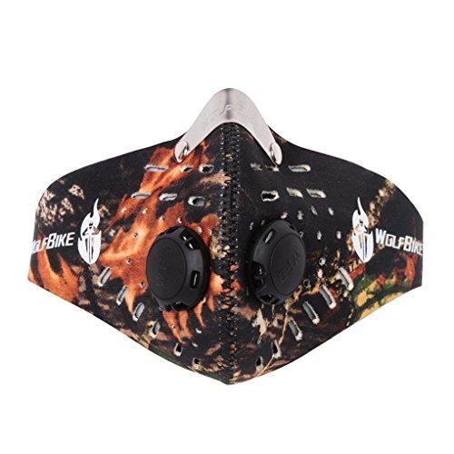 Greenery アウトドア防塵マスク 防風活性炭のマスク PM2.5対応 立体構造防護マスク 最高級 超高性能マスク 活性炭入りフィットマスク 抗菌 防ウィルス 花粉や風邪 アレルギー対策 自転車 オートバイ アウトドア スポーツ スキー スノーボードに利用!