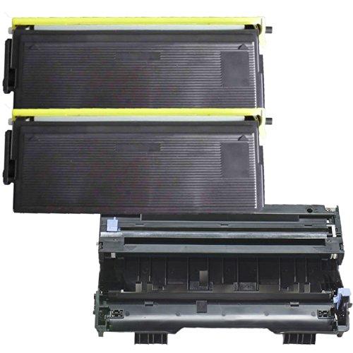 (1 Drum + 2 Toner) Inktoneram® Replacement Toner Cartridges & Drum For Brother Tn430 Dr400 Toner Cartridges & Drum Replacement For Brother Dr-400 Tn-430 Set