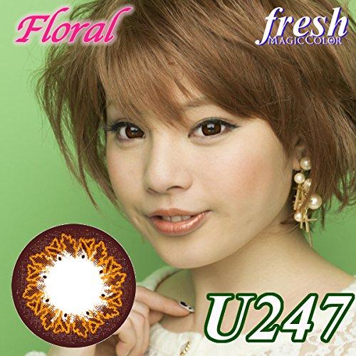 MAGICCOLOR (マジックカラー) fresh U247 度なし 14.0mm 1ヵ月使用 2枚入り