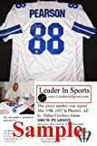 Drew Pearson Signed Jersey with Super Bowl Inscription- Dallas Cowboys Amazon.com