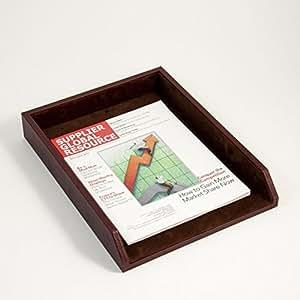 bey berk d1123 desk pad tan leather. Black Bedroom Furniture Sets. Home Design Ideas