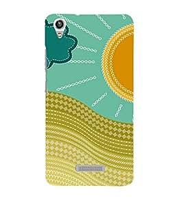 Sunshine Design 3D Hard Polycarbonate Designer Back Case Cover for Lava Iris Pixel V1
