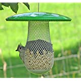 The Best Bird Feeder to Attract More Wild Birds! Keep Squirrels Out and Frustrated! Suitable for Sunflower Seeds & All Types of Bird Food! Decorative Metal Feeders Allow Variety of Bird Sizes Great Gift Idea for Your Family!