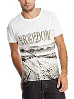 PAUL STRAGAS Camiseta Manga Corta (Blanco)