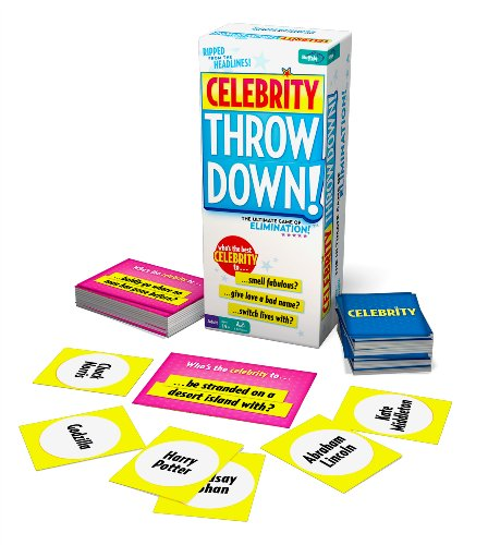 Buffalo Games Celebrity Throw Down Board Game