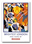 TW83 Vintage 1920's Brightest London...