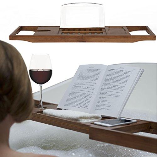 luxus-badebuch-halter-rack-premium-natural-bambus-badewanne-tablett-mit-der-erweiterung-seiten-wein-