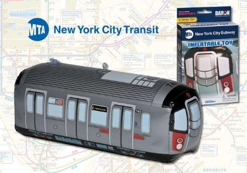Mta - Metropolitan Transit Authority EB0351 Inflatible Subway Car