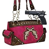Fuchsia Dual Six-Shooter Conceal and Carry Purse