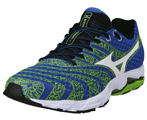 Mizuno Wave Sayonara 2 Men'S Running Shoe, Blue/Green, Us10.5