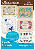 Anita Goodesign Quilt Labels Embroidery Designs