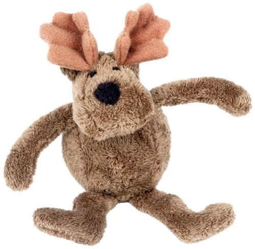 Purr-Fection Borris Bouncy Buddy Moose Plush