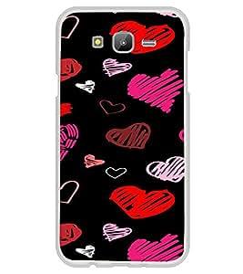 ifasho Designer Phone Back Case Cover Samsung Galaxy J7 J700F (2015) :: Samsung Galaxy J7 Duos (Old Model) :: Samsung Galaxy J7 J700M J700H ( God Funky Cross Design )