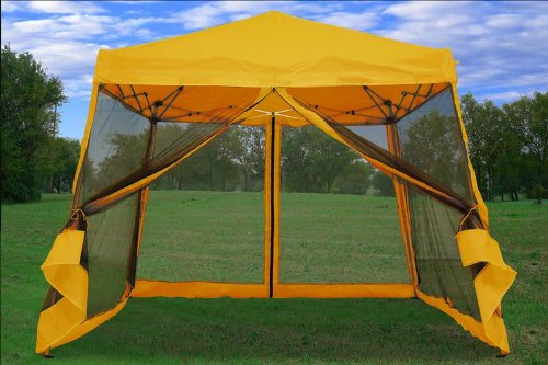 8x8 10x10 Pop up Canopy Party Tent Gazebo Ez with Net