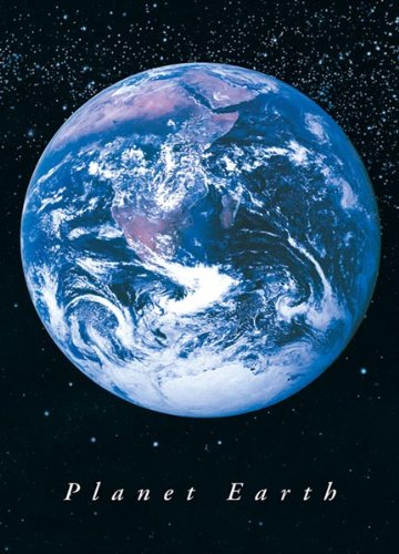 Planet Earth from Space poster