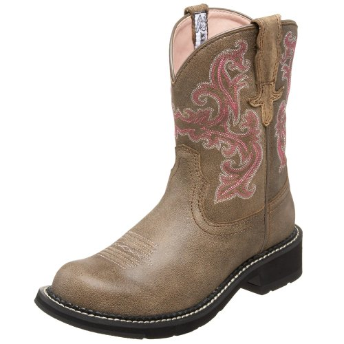 Ariat Women's Fatbaby II Boot,Brown Bomber,9 M US