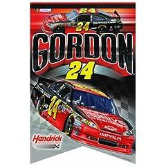 NASCAR Jeff Gordon 17-by-26 Inch Premium Felt Banner by WinCraft