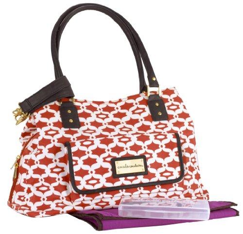 Cocalo Couture Kayla Satchel Diaper Bag, Lattice