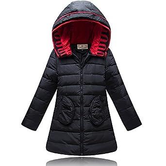 Amazon.com: ROSEATE Girls Winter Down Dress Coats Puffer