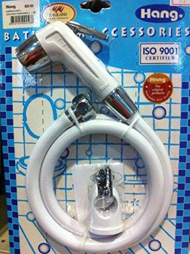 Bum Gun Water Toilet Kitchen Sprayer Bathroom Bidet Hand Held Shower, Pre Rinse Spray Nozzle Set (Home Depot Toilet Seat Standard compare prices)