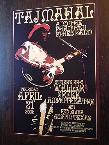 taj-mahal-rare-original-blues-austin-tx-texas-ltd-ed-concert-tour-gig-poster