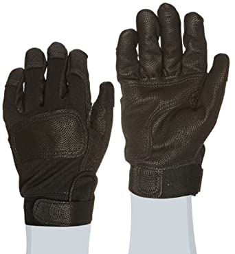 "Ansell ActivArmr 46-408 Nomex Kevlar Flame Resistant Tactical Combat Glove with Textured Grip, Cut Resistant, 10"" Length, (1 Pair)"