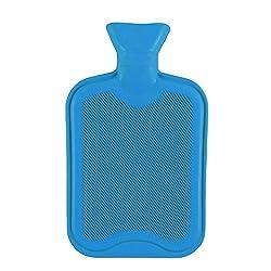 Medex Rubber Hot Water Bottle 2 Ltr (Blue)