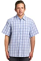 Haggar Men's Short Sleeve Microfiber Shirt