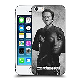 Official AMC The Walking Dead Glenn Double Exposure Hard Back Case for Apple iPhone 5 / 5s