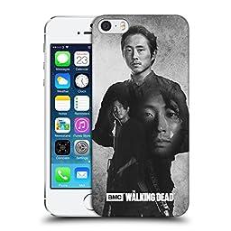 Official AMC The Walking Dead Glenn Double Exposure Hard Back Case for Apple iPhone 5 / 5s