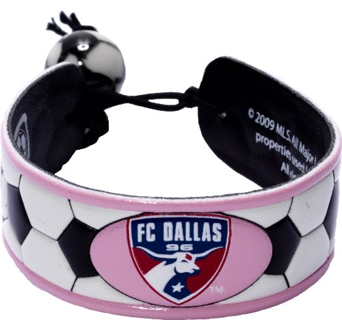 Mls Fc Dallas Pink Soccer Bracelet