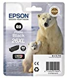 Epson C13T26314010 (26XL) Inkcartridge bright black, 400 pages, 9ml