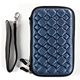 Water Proof Case For 2.5 Inch Blue Bubble Hard Disk Case (Blue Bubble) For 2.5 Inch WD/Seagate/Toshiba/Hitachi/Samsung/Sony/Clickfree/Transcend Portable External Hard Drives - Blue