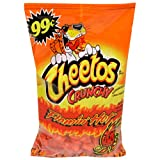 Cheetos Crunchy, Flamin' Hot, 2.78-Ounce Bags (Pack of 32) ~ Cheetos