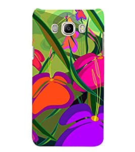 Colourful Flowers 3D Hard Polycarbonate Designer Back Case Cover for Samsung Galaxy J5 2016 :: Samsung Galaxy J5 2016 J510F :: Samsung Galaxy J5 2016 J510FN J510G J510Y J510M :: Samsung Galaxy J5 Duos 2016