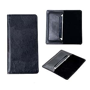 SkyAnk Pu Leather Flip Pouch Case Cover For Karbonn Titanium Hexa