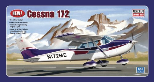 Minicraft Models Cessna 172 (Fixed Gear) 1/48 Scale (Cessna 172 Model compare prices)