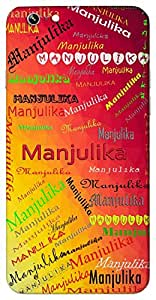 Manjulika (a sweet girl) Name & Sign Printed All over customize & Personalized!! Protective back cover for your Smart Phone : Samsung Galaxy S4mini / i9190