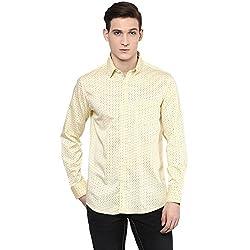 RICHLOOK Casual Yellow Shirt