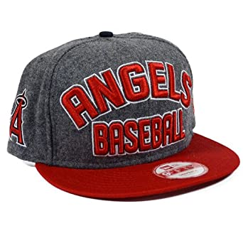 Los Angeles Angels of Anaheim New Era 2013 MLB Emphasized Snapback Hat by New Era