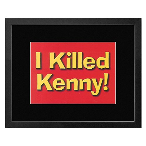 South Park - I Killed Kenny! Framed and Mounted Print - 17.5x22.7cm