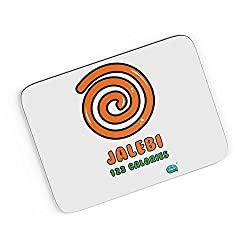 PosterGuy A4 Mouse Pad - Jalebi 123 Calories | Designed by: Being Indian