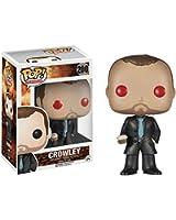 Funko - Figurine Supernatural - Crowley Red Demon Eyes Exclu Pop 10cm - 0849803051549