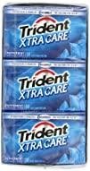 Trident Xtra Care Gum, Peppermint, 14…