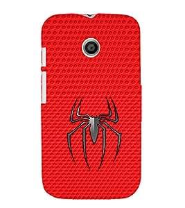 EPICCASE spider Mobile Back Case Cover For Moto E (Designer Case)
