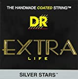 DR Strings Extra Life Silver Star SIA-12 Acoustic Strings