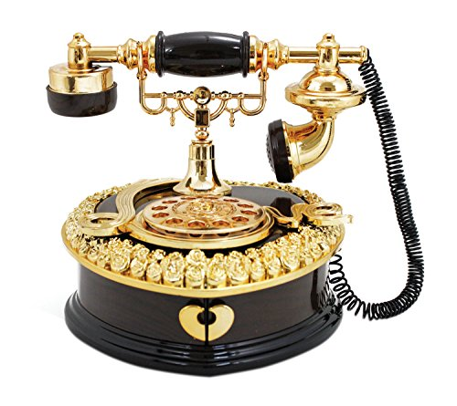 jacki-design-vintage-telephone-music-box-brown